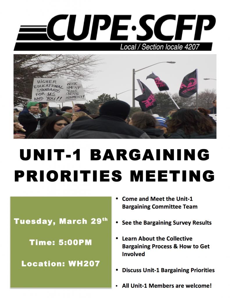 Unit-1 Bargaining Priorities Mtg copy