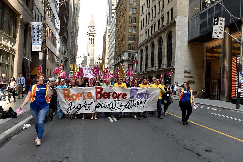 Anti-austerity Rally May 27 2016