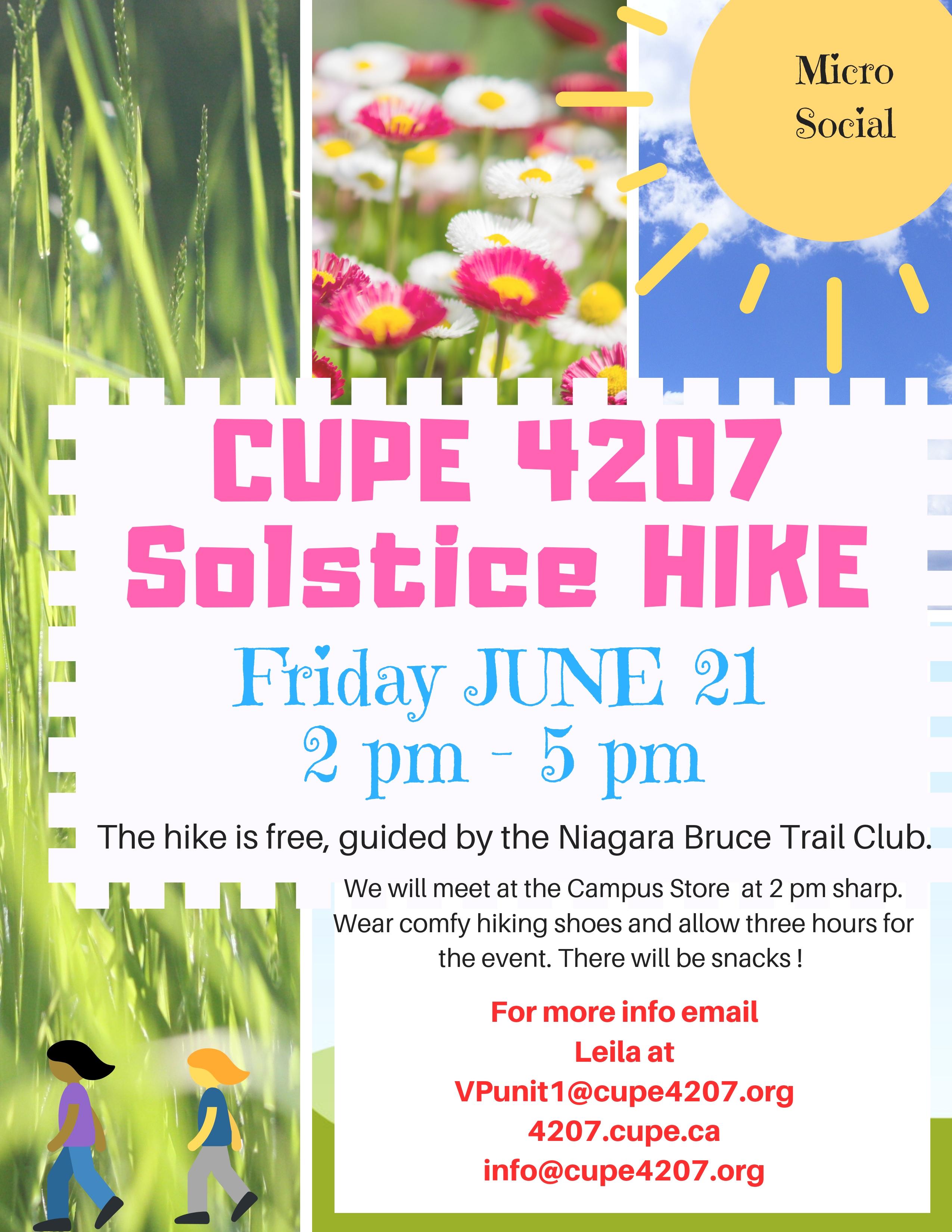Summer Solstice Hike - MicroSocial